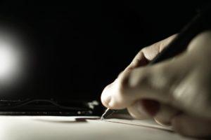"""""""The pen is mightier than the sword"""" – eine alte Weisheit, die im Wahllokal der Zukunft womöglich an Gültigkeit verlieren wird. Quelle: pixabay.com"""
