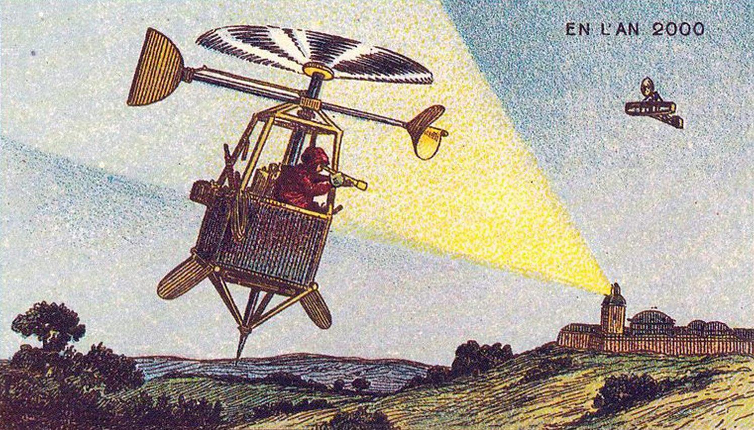 Kunst und Vision: Unser Millennium – aus der Sicht von vor 100 Jahren